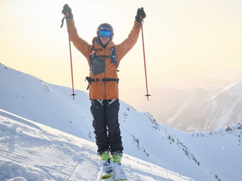 bienfaits ski